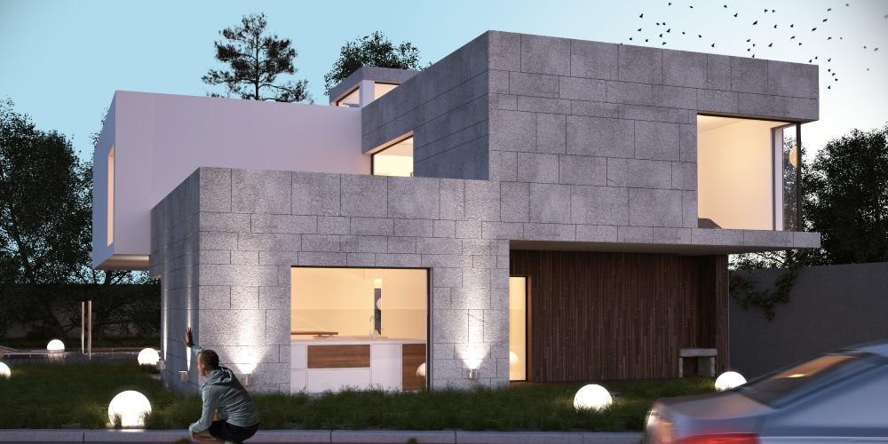 Vivienda unifamiliar arquitectura moderna interiorismo for Vivienda arquitectura